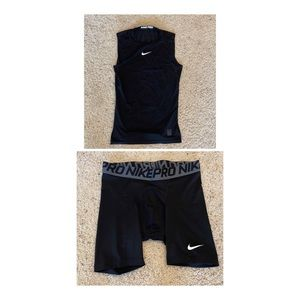 Nike Pro Combat Compression Shorts & Tank Top